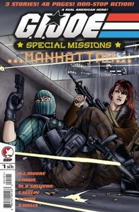 Comic Books GI Joe Special Missions Manhattan #1