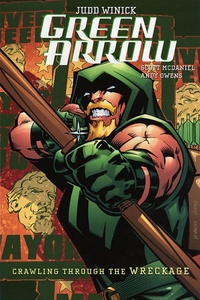 DC Comic Books Green Arrow Vol. 8 Crawling From the Wreckage Trade Paperback