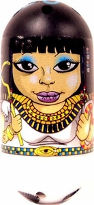 Mighty Beanz 2010 Series 2 Common Egyptian Single Bean #148  Cleopatra