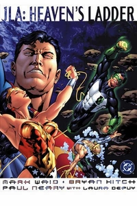 DC Comic Books JLA Heavens Ladder Oversized Trade Paperback