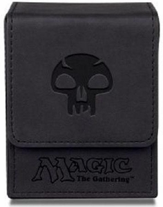 Ultra Pro Magic The Gathering Black Mana Symbol Premium Flip Deck Box