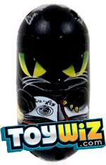 Mighty Beanz 2010 Series 2 Common Cat Single Bean #172 Black Cat