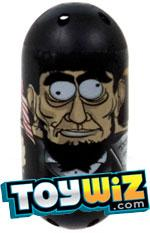 Mighty Beanz 2010 Series 2 Common Historical Single Bean #184 Lincoln