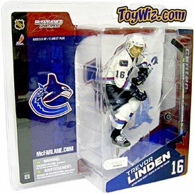 McFarlane Toys NHL Sports Picks Series 8 Canada Exclusive Action Figure Trevor Linden (Vancouver Canucks) White Jersey