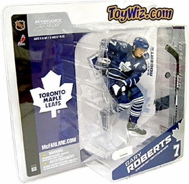 McFarlane Toys NHL Sports Picks Canada Exclusive Series 8 Action Figure Gary Roberts (Toronto Maple Leafs) Blue Jersey