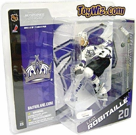 McFarlane Toys NHL Sports Picks Canada Exclusive Series 8 Action Figure Luc Robitaille (Los Angeles Kings) White Jersey