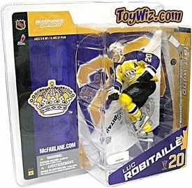 McFarlane Toys NHL Sports Picks Canada Exclusive Series 8 Action Figure Luc Robitaille (Los Angeles Kings) Retro Yellow Jersey Variant