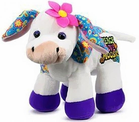 Webkinz Plush Rockerz Peace Love Moosic Cow