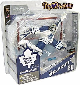 McFarlane Toys NHL Sports Picks Canada Exclusive Series 8 Action Figure Ed Belfour (Toronto Maple Leafs) White Jersey
