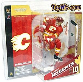 McFarlane Toys NHL Sports Picks Canada Exclusive Series 8 Action Figure Gary Roberts (Calgary Flames) Red Jersey Variant