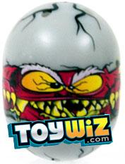 Mighty Beanz 2010 Series 2 Ultra Rare Egg Single Bean #201 Monster Egg