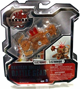 Bakugan Deluxe Electronic Battle Gear Sub Terra [Brown] Rock Hammer Adds 110 G!