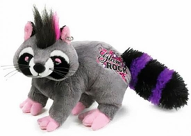 Webkinz Plush Rockerz Glam Rock Raccoon