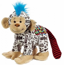 Webkinz Plush Rockerz Punky Monkey