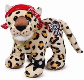 Webkinz Plush Rockerz Rock On Leopard
