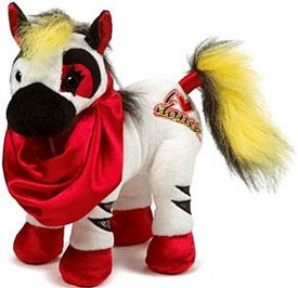 Webkinz Plush Rockerz  I Heart Dance Zebra