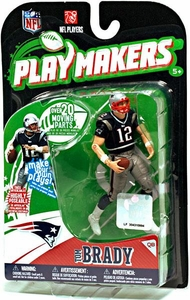 McFarlane Toys NFL Playmakers Series 1 Action Figure Tom Brady (New England Patriots)