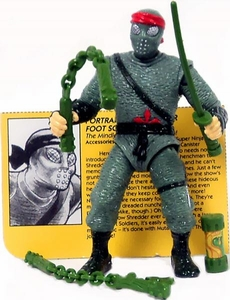 Teenage Mutant Ninja Turtles Movie Star LOOSE Action Figure Foot Soldier