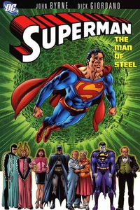 DC Comic Books Superman The Man of Steel Vol. 1 Trade Paperback