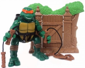 Teenage Mutant Ninja Turtles 2003 Series LOOSE Action Figure Ninja Action Michelangelo
