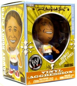 WWE Wrestling Vinyl Aggression 3 Inch Figure Series 6 Rowdy Roddy Piper