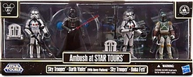 Star Wars 2013 Exclusive Battle Pack Ambush at Star Tours [Darth Vader, Boba Fett & 2x Sky Troopers]