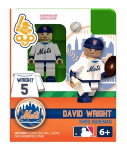 OYO Baseball MLB Building Brick Minifigure David Wright [New York Mets]