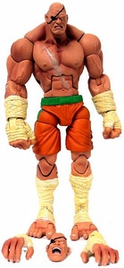 Sota Toys Street Fighter Series 1 Action Figure Sagat [Orange]