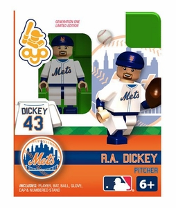 OYO Baseball MLB Building Brick Minifigure R.A. Dickey [New York Mets]