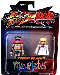 Street Fighter X Tekken Minimates Series 1 Mini Figure 2-Pack Poison vs Lili