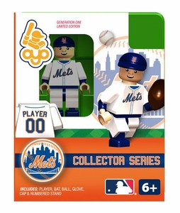 OYO Baseball MLB Building Brick Minifigure New York Mets Collectors Series Figure