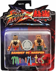 Street Fighter X Tekken Minimates Series 1 Mini Figure 2-Pack Zangief vs Marduk