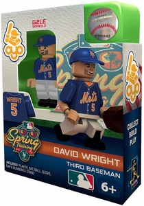 OYO Baseball MLB Building Brick Minifigure Spring Training David Wright [New York Mets]