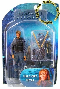 Diamond Select Toys Stargate Atlantis Series 2 Action Figure Field Ops Teyla