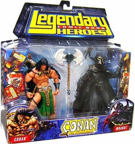 Legendary Heroes Marvel Toys Series 1 Action Figure 2-Pack Conan & Devourers of Souls
