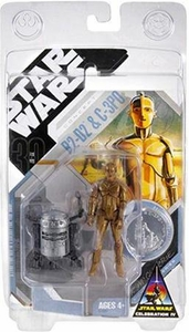 Star Wars Saga 2007 Exclusive Action Figure R2-D2 & C-3PO [McQuarrie Concept]