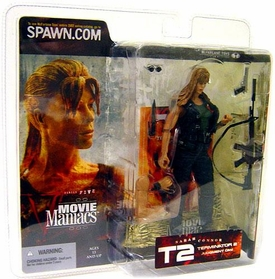 McFarlane Toys Movie Maniacs Series 5 Action Figure Sarah Connor [Straight Hair]