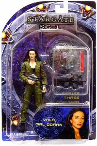 Diamond Select Toys Stargate SG-1 Series 3 Action Figure Vala Mal Doran