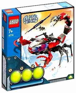 LEGO Alpha Team Set #4774 Scorpion Orb Launcher