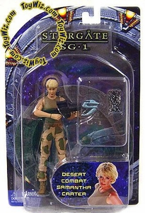 Diamond Select Toys Stargate SG-1 Series 4 Action Figure Desert Camo Samantha Carter