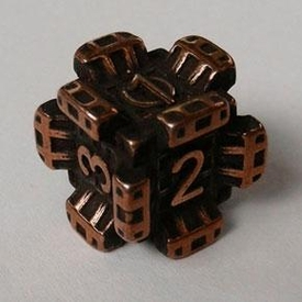 IronDie Single Die Rare Copper Plated Fortress