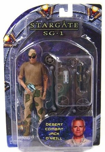 Diamond Select Toys Stargate SG-1 Series 4 Action Figure Desert Camo Jack O'Neill
