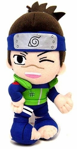 Naruto BanPresto Japanese Plush 6 Inch Plush Figure Iruka with Winking Eye