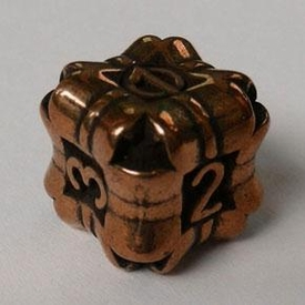 IronDie Single Die Rare Copper Plated Regeneration