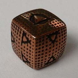 IronDie Single Die Rare Copper Plated Smasher