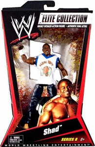 Mattel WWE Wrestling Elite Series 6 Action Figure Shad