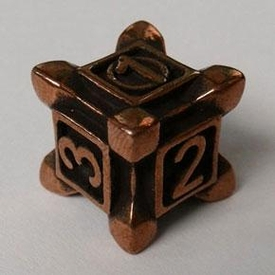IronDie Single Die Rare Copper Plated Swarm