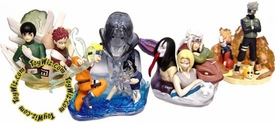 Naruto Collectible Set of 4 Mini PVC Busts and Statues BLOWOUT SALE!