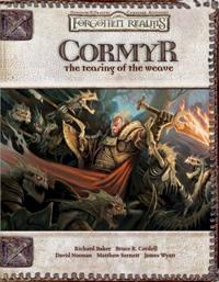 D&D Dungeons & Dragons Forgotten Realms Accessory Cormyr: the Tearing of the Weave