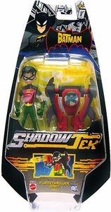 The Batman Shadow Tek Action Figure Flamethrower Robin